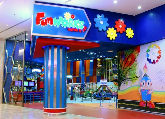 Fun Works opens at Yas Mall  Future of retail business in  # Nespresso Yas Mall