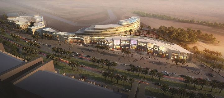 First avenue shopping mall hotel on track to open in for Hotels in motor city dubai
