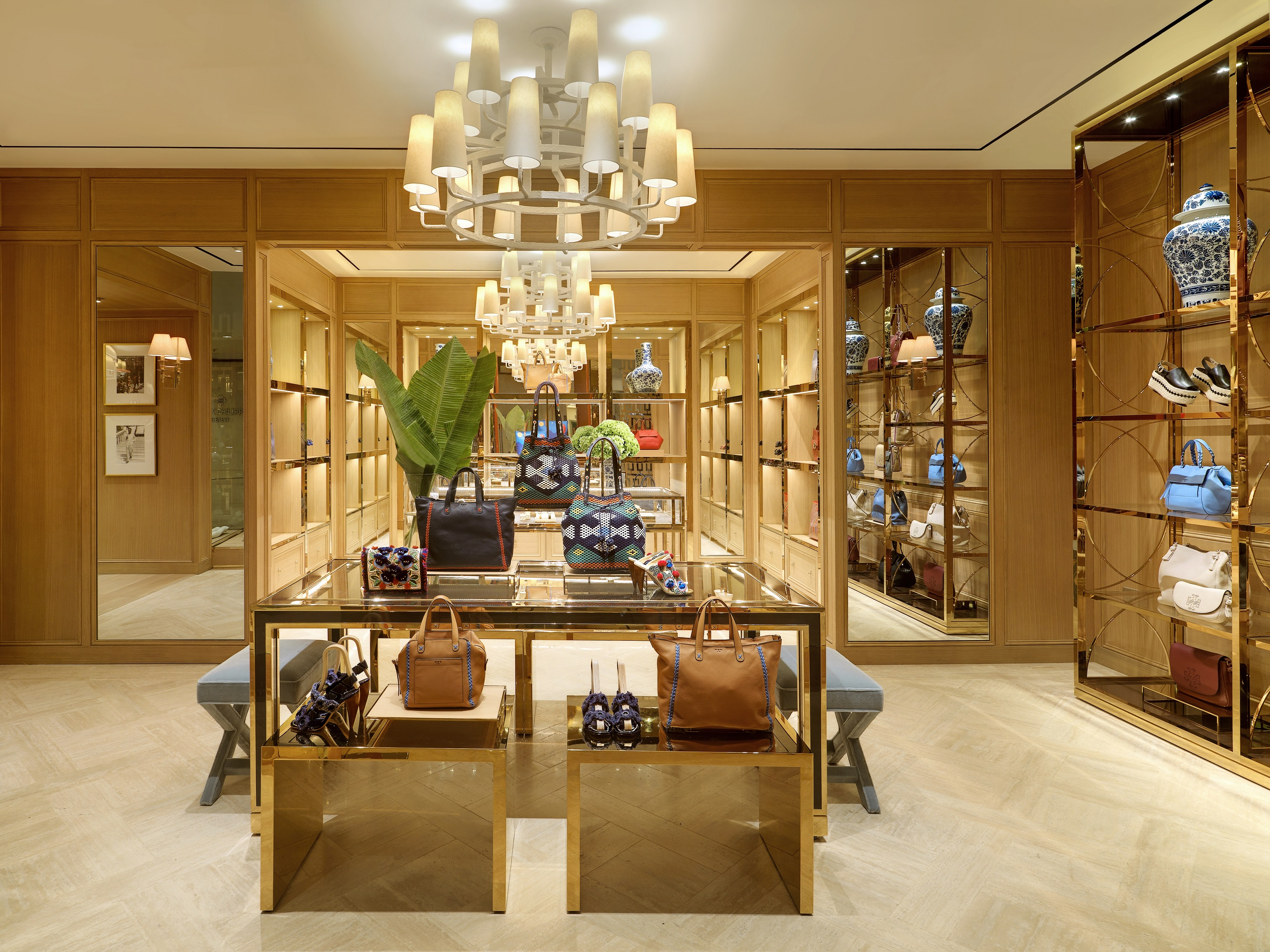 Tory Burch Opens In Mall Of Qatar Future Of Retail Business In Middle East