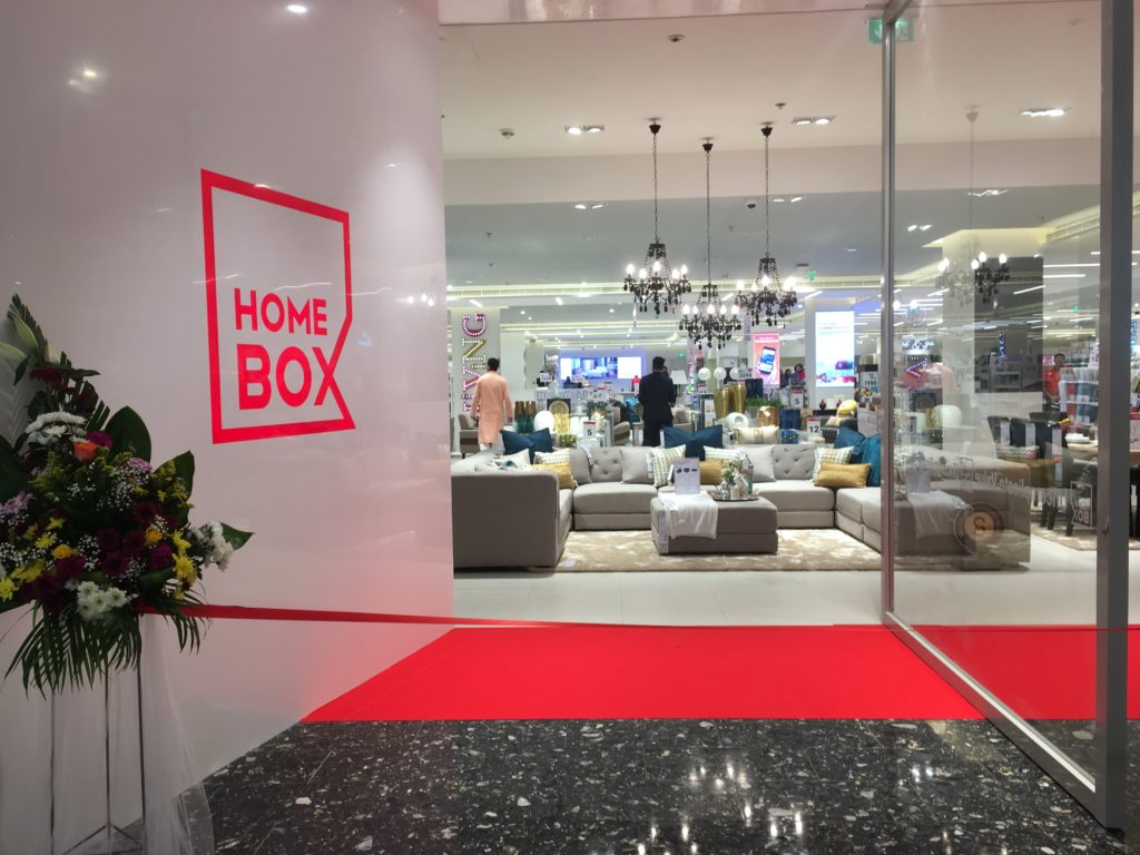 home box launches 25th store in the gcc future of retail business in middle east. Black Bedroom Furniture Sets. Home Design Ideas