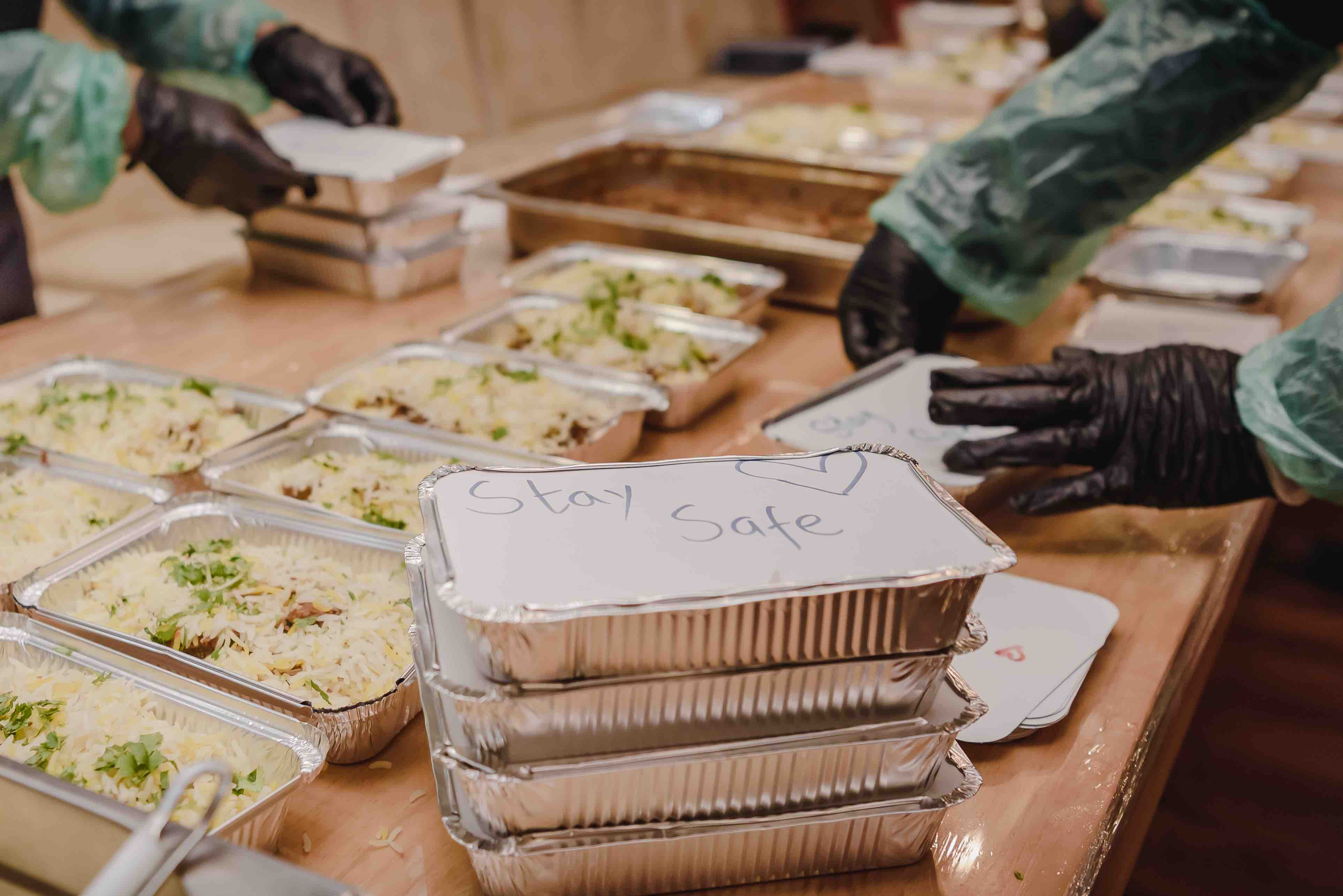 Alabbar Enterprises feeding people in need