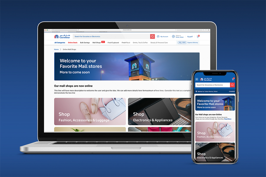 Majid Al Futtaim launches Carrefour-enabled online marketplace