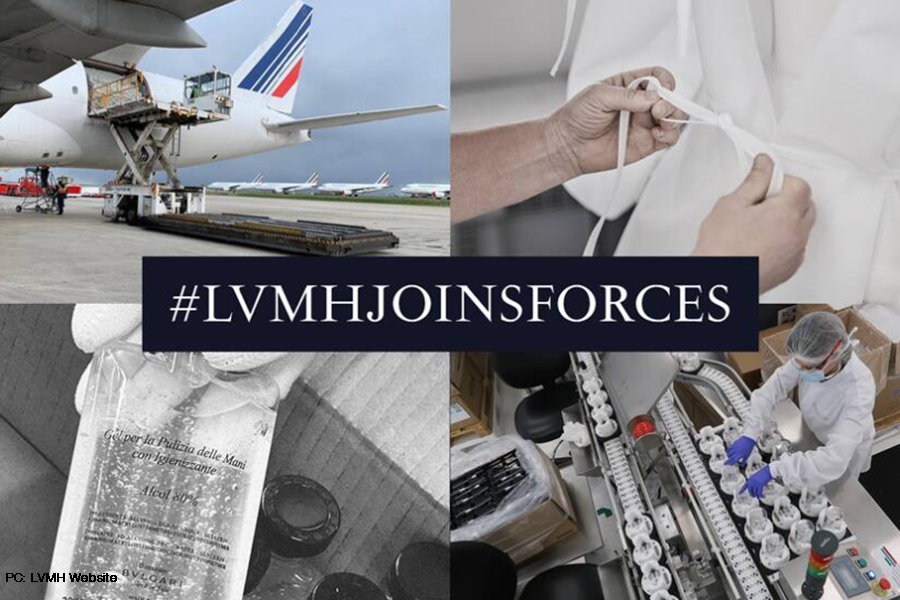 LVMH shows resilience amidst COVID-19 crisis