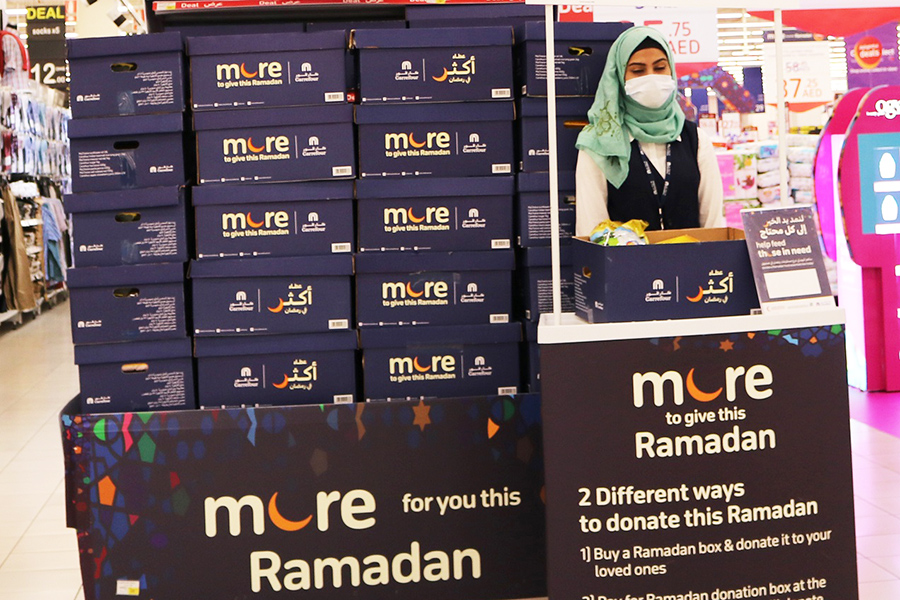 Carrefour brings Ramadan essentials to those in need