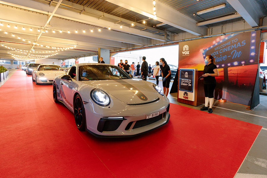VOX Cinemas launch drive-in experience at Mall of the Emirates