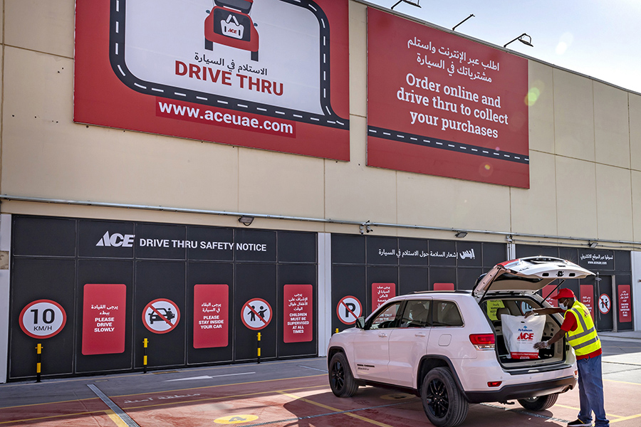 ACE launches digital drive-thru shopping experience