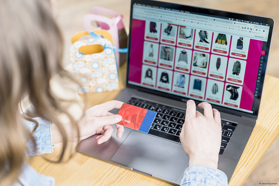 Local businesses benefit as consumers shop online