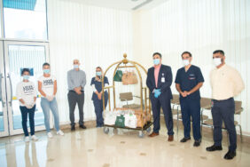 FoodKarma with its F&B partners deliver free meals to Al Zahra Hospital