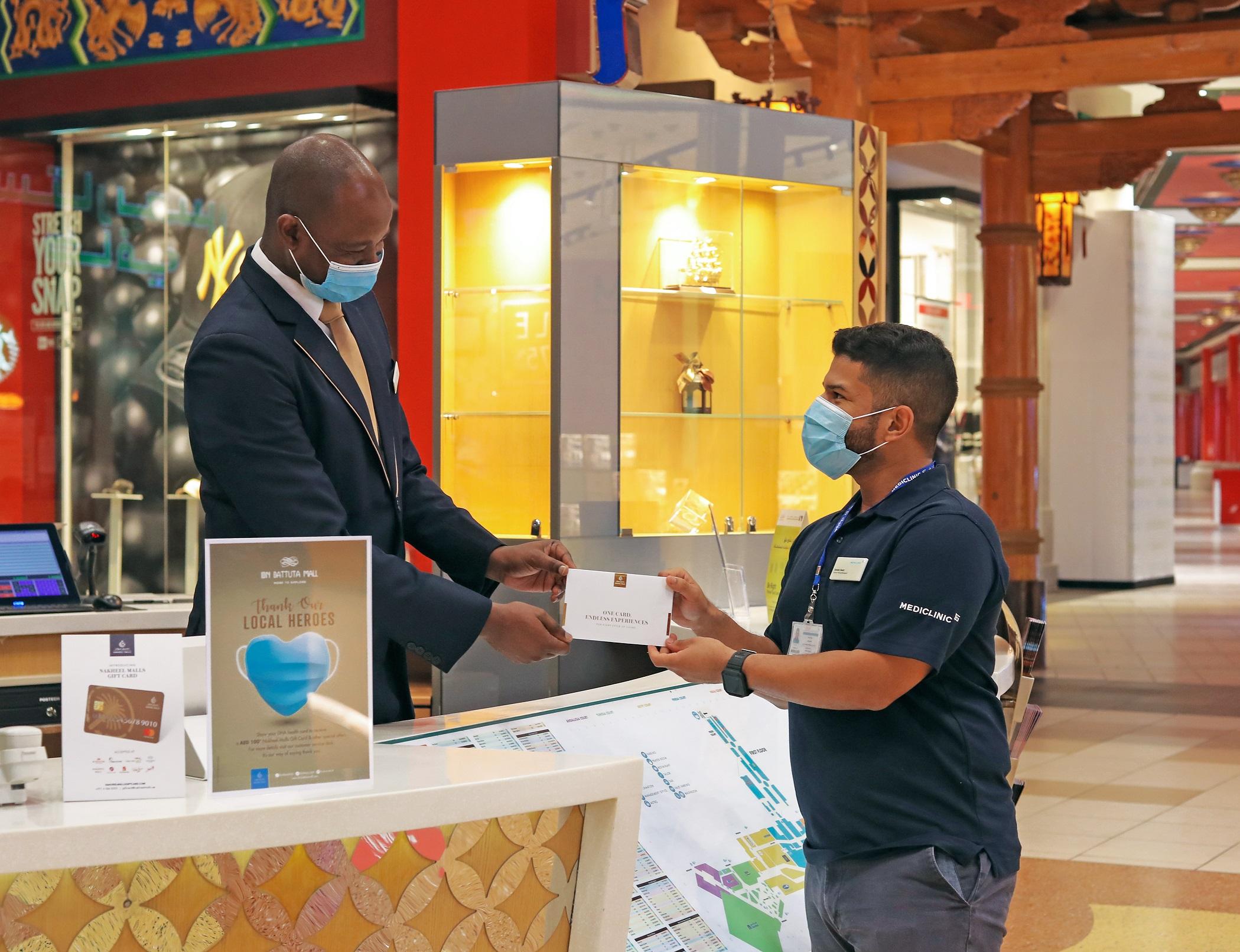 Nakheel Malls thanks Dubai's healthcare heroes