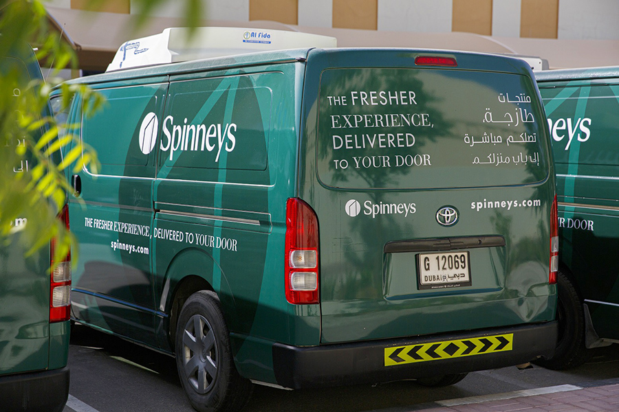Spinneys starts doorstep delivery in Dubai