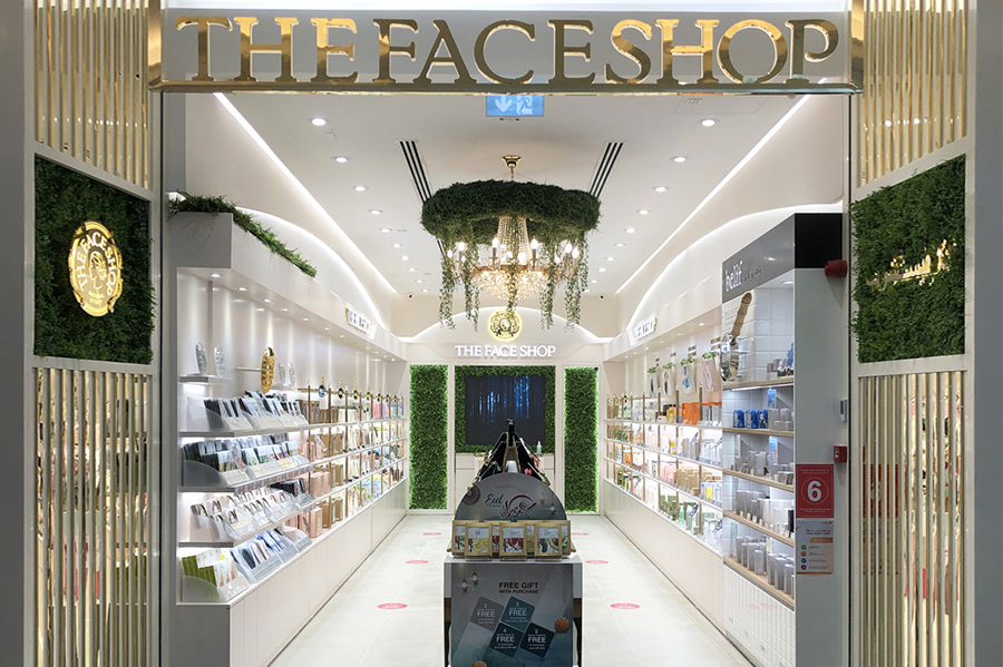 The Face Shop rethinks shopping experience