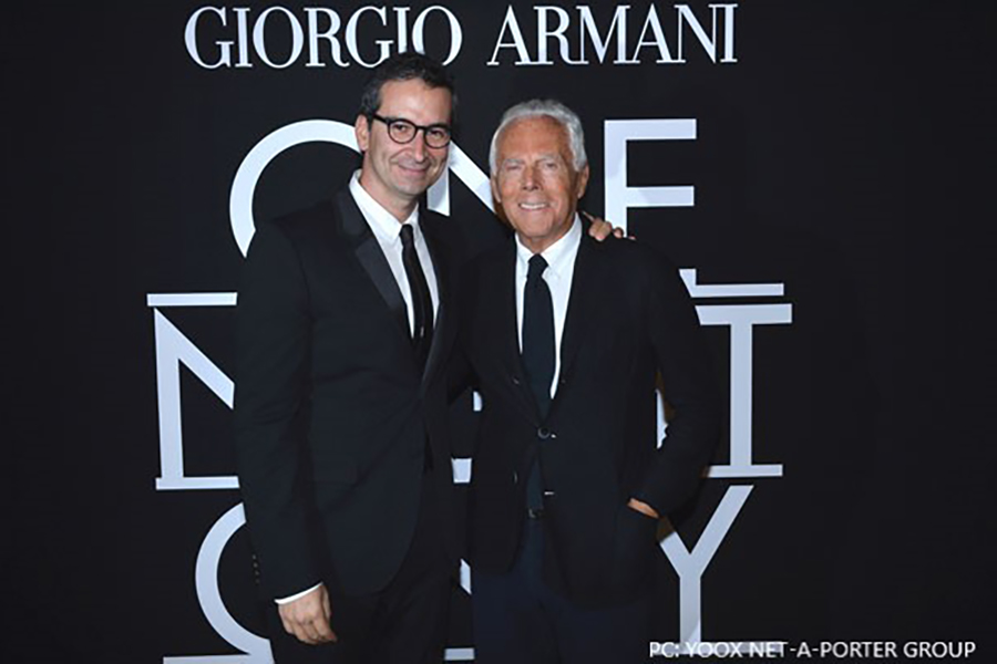 Armani, YNAP Group will offer integrated shopping experience
