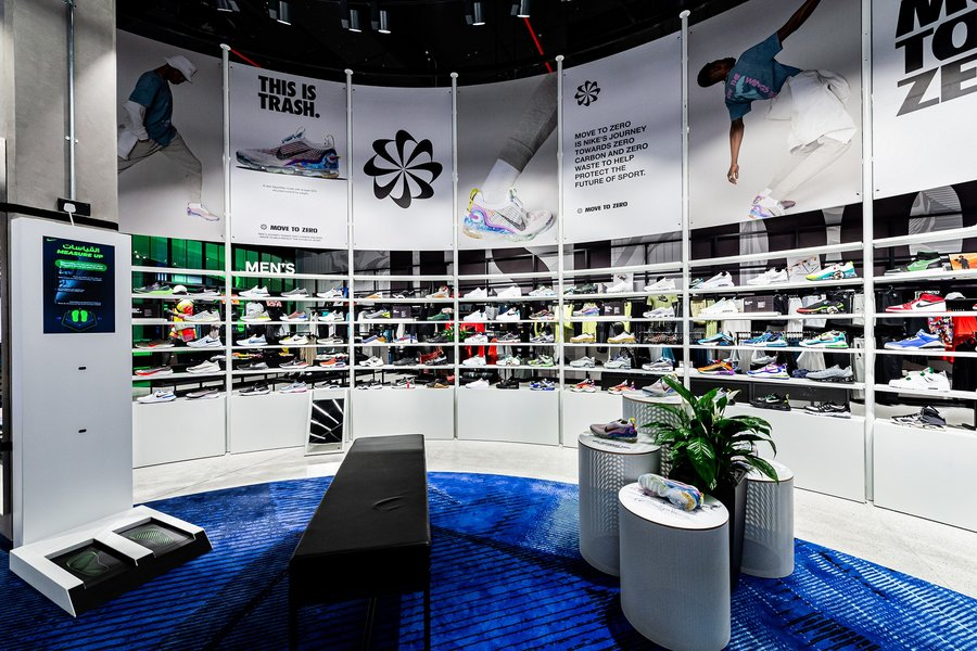 Nike reopens at Mall of the Emirates with sustainability goals