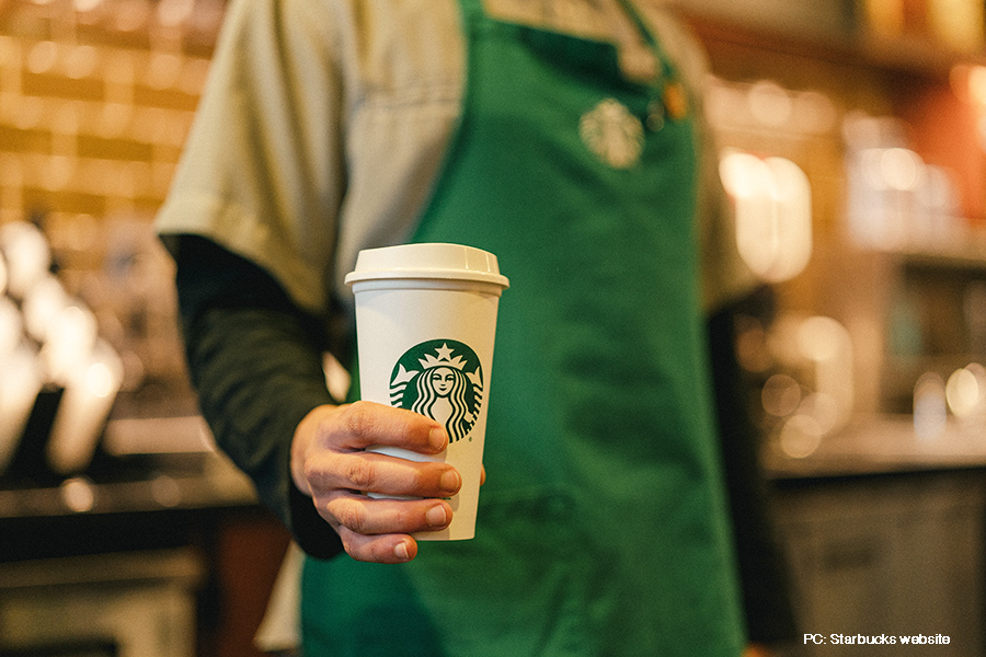 Starbucks aspires to be resource-positive