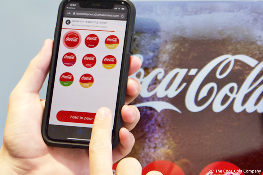 Coca-Cola takes contactless to the next level