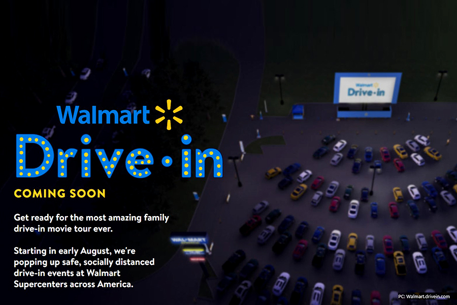 Walmart to launch drive-in movie theatre