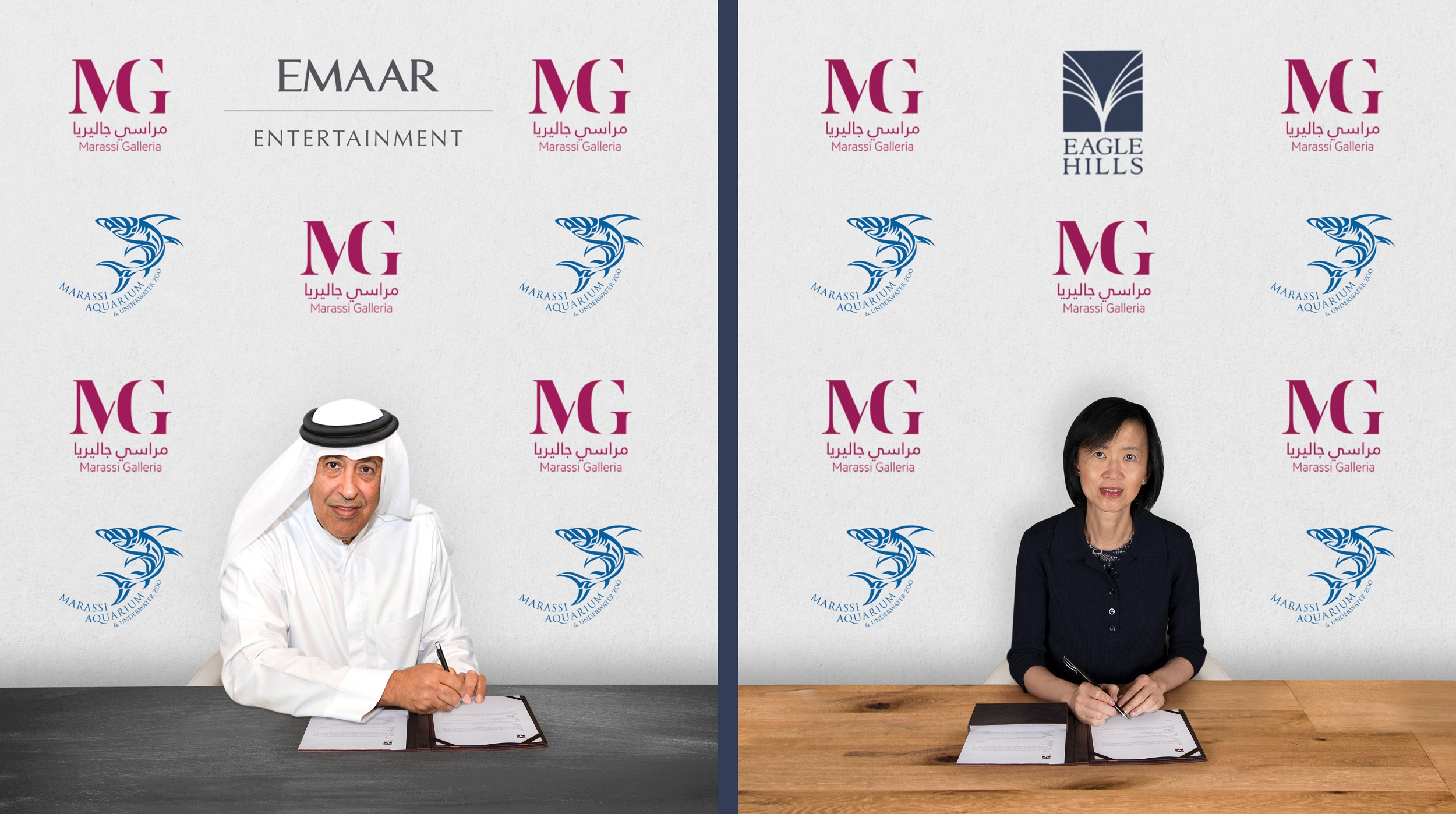 Bahrain's Marassi Galleria will house Marassi Aquarium and Underwater Zoo