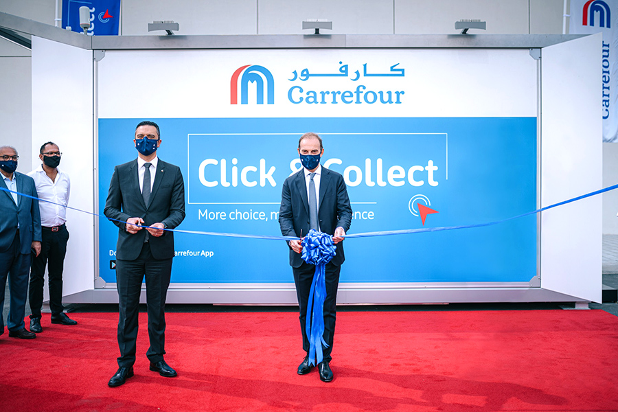Carrefour launches click & collect self-service at DIFC