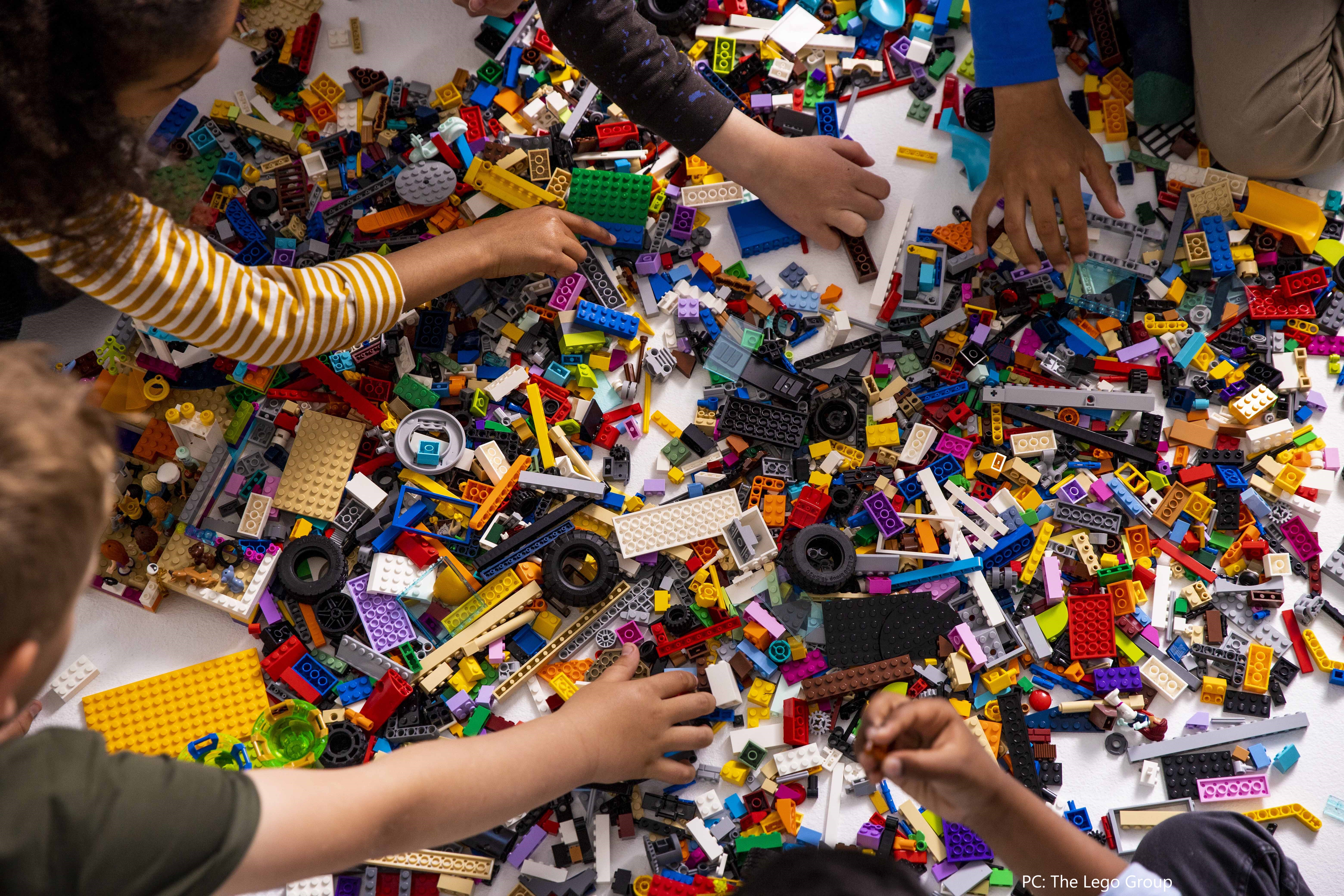 The LEGO Group reports double-digit growth