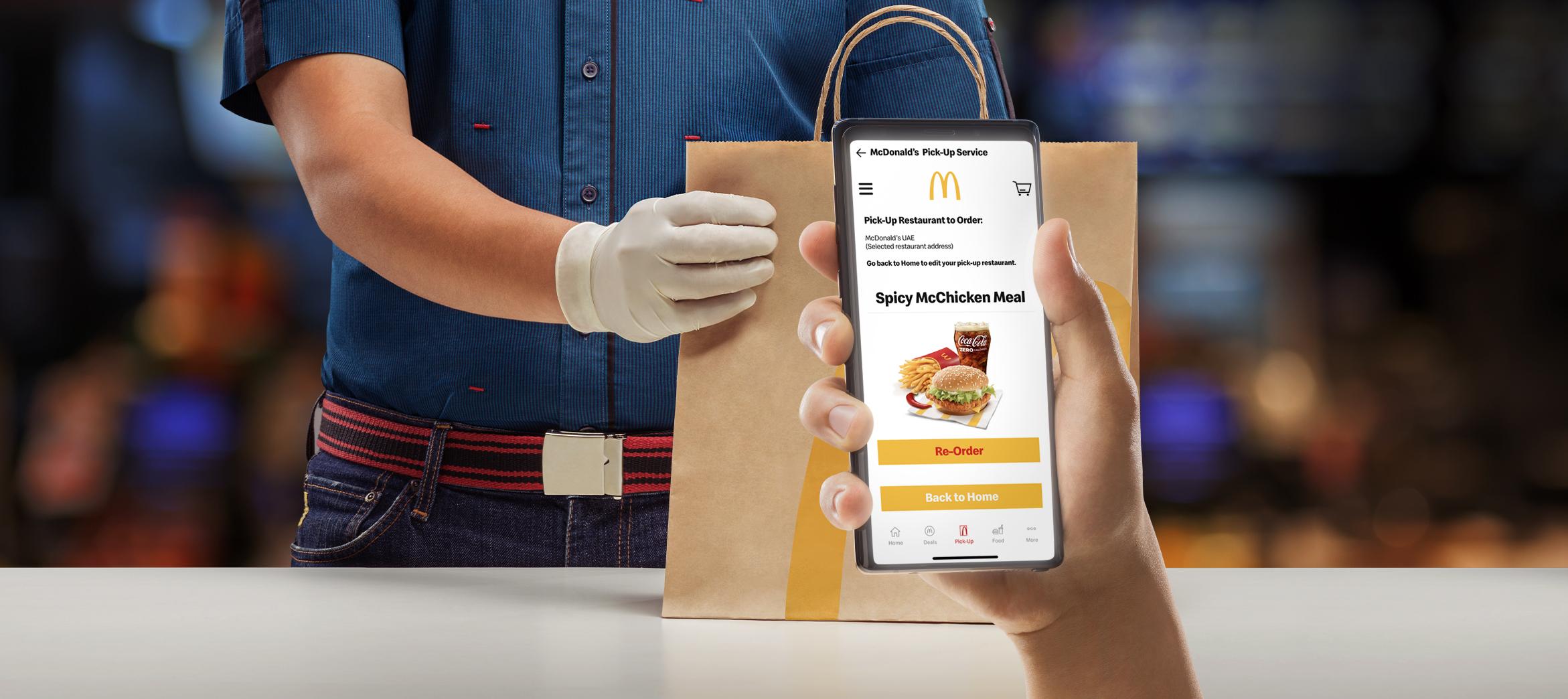 McDonald's UAE launches pick-up service