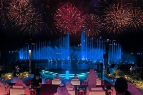 Dubai's Palm Fountain